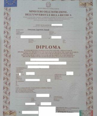 Diploma di maturità (Abiturzeugnis)